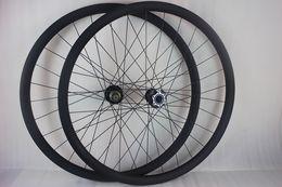 Wholesale Mtb Wheels 29er - 29er MTB XC AM mountain bike carbon fiber lefty wheelset SUPERMAX 2.0 lefty fork compatible 29inch left hand wheels UD 28 holes XX1 XD X01