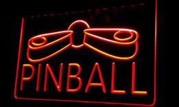 Wholesale Pinball Light - Ls292-r Pinball Game Room Display Decor Neon Light Sign.jpg