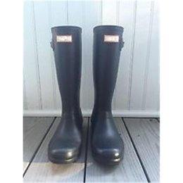 Wholesale Dark Red Matte - Ms. Glossy Matte Rain Boots Waterproof Women Wellies Woman Rain High Boot Rainboots Rainshoes Galoshes Rain Boot Shoes 11 colors