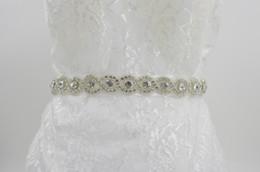 Wholesale Pearls Dress Shop - A-Class Diamond Wedding Dress Waist Belt Of Big Shop Sign Bride Wedding Dress Bridal Sash Wedding Belt Pearl Beaded Wedding Belt