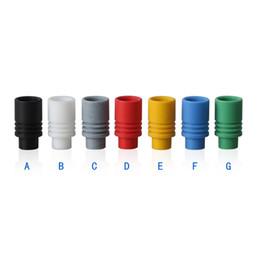 Wholesale Dct Hole - Flyskytech friction Drip Tips 510 Big Hole Friction fit Drip Tips no O-ring for EE2 CE4 CE5 MT3 VIVI Protank 510 DCT Ego Nova Vapomizer