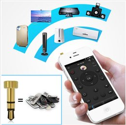 Wholesale Iphone Projectors - Portable mini Pocket Mobile Phone Smart IR Remote Control For Air Conditioner TV DVD Projector NEW for iphone ipad Touch