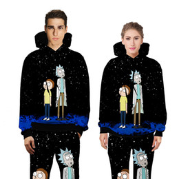 Wholesale Sweaters Hood Men - Explosion models 3D printing sweater men's baseball clothing with long-sleeved autumn autumn hood factory supply Couple shirt