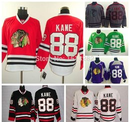 Wholesale Blackhawk Full - Chicago Blackhawk Jerseys Kane Cheap Patrick Kane Jersey Men Hockey Jerseys Authentic Chicago Blackhawks Stitched Jersey Cheap China