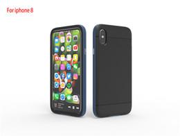 Wholesale Sgp Slim Armor - For Iphone x SGP Carbon Case Tough Armor Case Slim Hybrid Cover Shockproof Back Skin for iPhone 8 8+ 7s 7 plus Samsung S8 S8 Plus S7 Edge