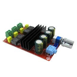Wholesale Audio Amplifier Tubes - Freeshippng XH-M190 Tube Digital Amplifier Audio Board TPA3116 Power Audio Amp 2.0 Class D Amplifiers Stereo HIFI amplifier DC12-24V 2*100W