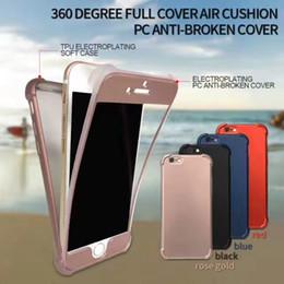 Wholesale Carbon Fibre Cases Wholesale - shockproof 2In 1 cellphone case For Samsung A3 A5 A7 S8 Plus J3 J5 J7 Carbon Fibre Wire Drawing Anti-Fal iphone 7 case