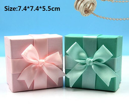 Wholesale Earrings Boxes Jewellery - 30pcs lot Novelty Creative Gifts Jewelry Jewellery Sets Necklace Earrings Rings Bracelets Bangles Package Packaging Showing Display Box