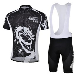 Wholesale Dragon Cycle Set - Bicycle Sport Wear Mountain Bike Clothing Set Cheji Ghost Wolf Dragon Maillot Cycling Cycling Jersey 2014 For Men
