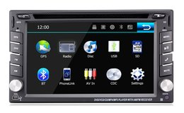 "Wholesale Universal Multimedia Car - 6.2"" Nissan Universal in-dash Car DVD player with GPS navigation(optional),audio Radio stereo,USB SD,AUX,BT TV,car multimedia headunit"