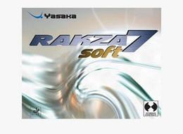 Wholesale Table Tennis Yasaka Rubbers - Yasaka RAKZA 7 soft table tennis rubber for table tennis racket,yasaka table tennis rubber