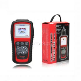 Wholesale Autel Launch - 2015 Top-Rared ELECTRONIC BRAKE SERVICE TOOL AUTEL MaxiServiceEBS301 100% Original EBS 301 One Year Free online software updates