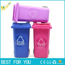 Wholesale recycled tables - New Big Mouth Toys The Mini Curbside Trash holder and Recycle Can Case Table Pen Holder also offer titanium quartz nail corset grinder 2016