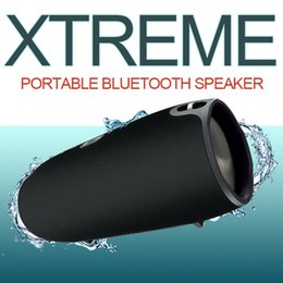 Wholesale Super Mp3 Speaker - Xtreme Bluetooth Speaker BT 4.0 Super Subwoofer Outdoor Power Bank 4400mAh Dual 7W Speaker With Straps Stereo Player USB TF FM Charge 3 2 +