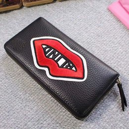 Wholesale High Bus - 2017 designer high-quality real leather wallet card holder with box letter credit card bus card package Superman wallet for men women