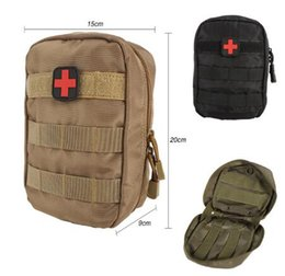 Wholesale First Package - First Aid Bag Only Molle Medical EMT Cover Outdoor Emergency Military Program IFAK Package Outdoor Travel Hunting Utility Pouch