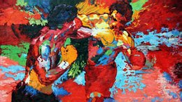 "Wholesale Black Korean Style Glasses - Free shipping20""X35""inch Hot Sale The repro by Leroy Neiman (Rocky vs Apollo) Sports Movie Poster Custom ART PRINT"
