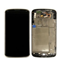 Wholesale Google Nexus Screen - Tested New Lcd For LG Google Nexus 4 New LCD Display With Touch Screen + Red Color Frame Replacement