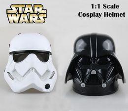 Wholesale Stormtrooper Helmets - Wholesale-EMS Shipping Movie Star Wars cosplay Helmet Trooper Stormtrooper   Darth Vader 1:1 Scale cos Mask Helmet PVC Model Toy Gift