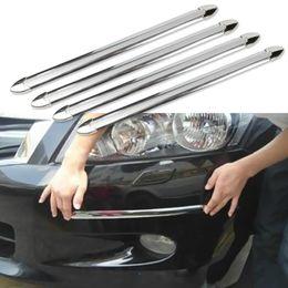 автомобильные лепные украшения Скидка 4шт/set анти-столкновения автомобилей газа бампер протектор автомобиль аварии бар анти-руб бар розничная бампер аварии стайлинг погонаж