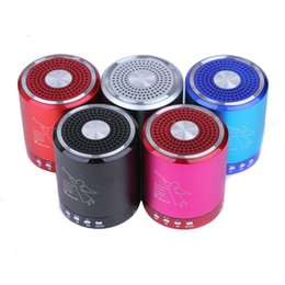 Wholesale Speakers Fedex - T2020A Angel bluetooth Speaker Card USB Speaker computer phone MP3 player metal material with MIC DHL Fedex free shipping 62-YX