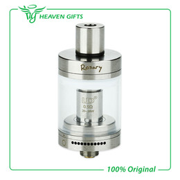 Wholesale Metal Rosaries - UD Rosary RTA Tank Atomizer 3ml Capacity Top Filling Rebuildable Tank Atomizer With Adjustable Airflow Control - Silver