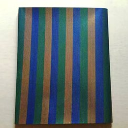 Wholesale African Head Ties Gele - LHD-7-1 2016 new African Gele Head tie,Swiss sego fabric, blue&gold&green stripe sego gele for African head wrapping 2 pcs pack