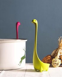 Wholesale Ladle Stand - Standing Soup Lovely Useful Ladle Loch Monster Design Upright Spoon Home Kitchen Bar Cute Cooking Gadgets Accessories Colorful