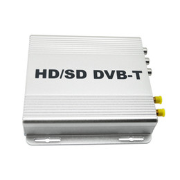 Wholesale Mpeg Sd - LEEWA Digital Dual Tuner Car HD H.264 MPEG-4 HD SD Various Channel DVB-T Receiver Mobile DVB-T BOX With PVR USB HDMI #2915