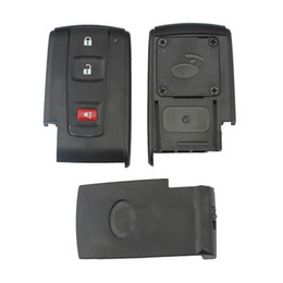 Wholesale Toyota Key Fob Shells - Wholesale 3 Buttons Replacement Shell Remote Car Key Case Black Fob for 2004-2009 Toyota Prius CIA_40V