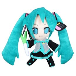 Wholesale Miku Vocaloid Plush - 15pcs Japan Anime 26cm Vocaloid Series Snow Hatsune Miku Plush Doll Stuffed Toy High Quality 2016 Hatsune Miku Hot Toys For Children Gifts