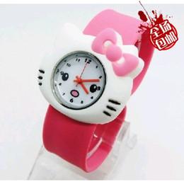 Wholesale Blue Quartz Point - Children watch wholesale manufacturers of silicone watch children's cartoon watch toy point of supply
