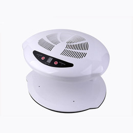Wholesale Hot Air Dryer - Hot & Cold Air Nail Dryer Manicure for Dry Nail Polish 3 Colors 220V EU 110V US Plug UV Polish Nail Dryer Fan