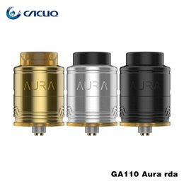 Wholesale Phillips Metal - Digflavor Aura RDA Tank Step Clamp Build Deck 810 Drip Tip with Both flat head screws and Phillips screws designed by DJLsb Vape Atomizer