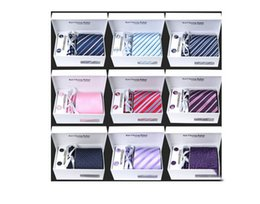 Wholesale Silk Tie Gift Box - Men's business ties 8.5 CM 24 color optional tie suit polyester tie gift box free delivery