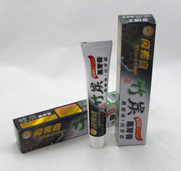 Wholesale High Hygiene - High Quality Best Toothpaste Charcoal Toothpaste Black Bamboo Charcoal Toothpaste Oral Hygiene Tooth Paste DHL Free Shipping