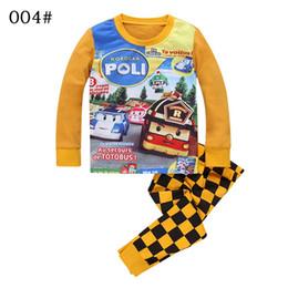 Wholesale Children S Pajamas Boy - Spring and autumn Children's pajama sets boy winter pyjamas kids pajamas girl Thickening Three warm children 's home service