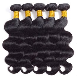 Wholesale Big Body Wave Human Hair - Glary Big Promotion Mink Brazilian Hair Bundles Remy Human Hair Extensions Body Wave Hair Weaves 4 5 6 Pieces Mix Order Wholesale Wefts