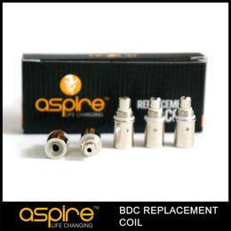Wholesale Ce5 Coils Ohm - Free shipping + 100% original aspire ce5 coils 1.8 2.1 ohm aspire ets coil aspire BDC replacement coil head