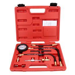 Wholesale Fuel Injector Pumps - TU-113 Fuel Injection Pump Injector Tester Pressure Gauge Test Gasoline 0-100psi