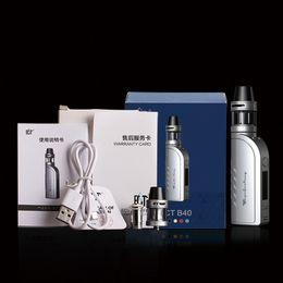 Wholesale Oled China - ECT-B40 e cigarette OLED screen kit box mod big smoke retail China wholesale 510 atomizer interface 18650 battery free shipping