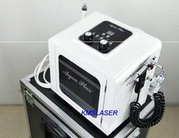 Wholesale Oxygen Therapies - 2 in1 SPA BIO Lifting RF facial machines skin therapy hydra dermabrasion Oxygen spray skin care beauty equipment