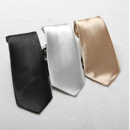 Wholesale Ties Solid Colours - Wholesale- New Arrival Neck Tie Fashion Boy Children Baby Wedding Solid Colour Elastic Tie Necktie Kids Clothing Accessories