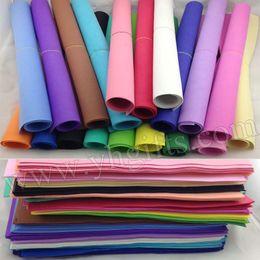 Wholesale Sponge Foam Paper - Wholesale- 204PCS LOT.1mm 17 color Foam sheets,Sponge paper,Punch foam,Foam crafts.Craft material,School projects.Foam flower.Wholesale