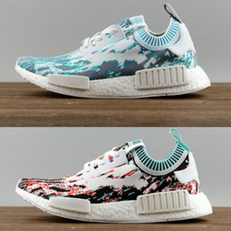 Wholesale Quality Outlet - New arrival men's and women's SUPERMEM NMD_R1 running shoes Factory outlet high quality couple walking shoes sneaker AD BB6365 BB6364