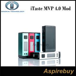 Wholesale Ups Bank - Innokin iTaste MVP 4.0 100W TC Box Mod Power Up with Big 4500mah Battery MVP4 MVP 4.0 Box Mod Big Vaporizer Power Bank 100% Original