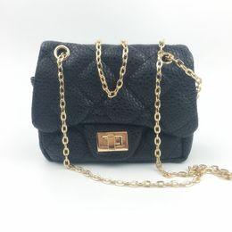Wholesale Baby Bag For Two - Wholesale- 2016 Kids Fashion Princess Bag Baby Girl Party Handbag Birtthday Gift for Children Ladylike Soft Messenger Bag for Little Girl