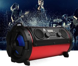 Wholesale Phone Call Sound - Outdoor portable Bluetooth speaker 15W subwoofer multi-function USB TF card speaker with microphone Call function voice prompts