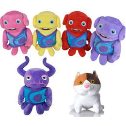 Wholesale Cute Aliens - Wholesale-Home Cartoon Movie Crazy Alien Plush Toy Lovely Cute Stuffed Doll Toys Gift For Children Kids