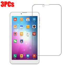 "Wholesale Onda Tablet 3g - Wholesale- 3PCs lot Screen Guard For 7"" ONDA V719 3G Explay Surfer 7.34 3G Tablet Original Clear Full LCD Screen Protector Film Free Ship"